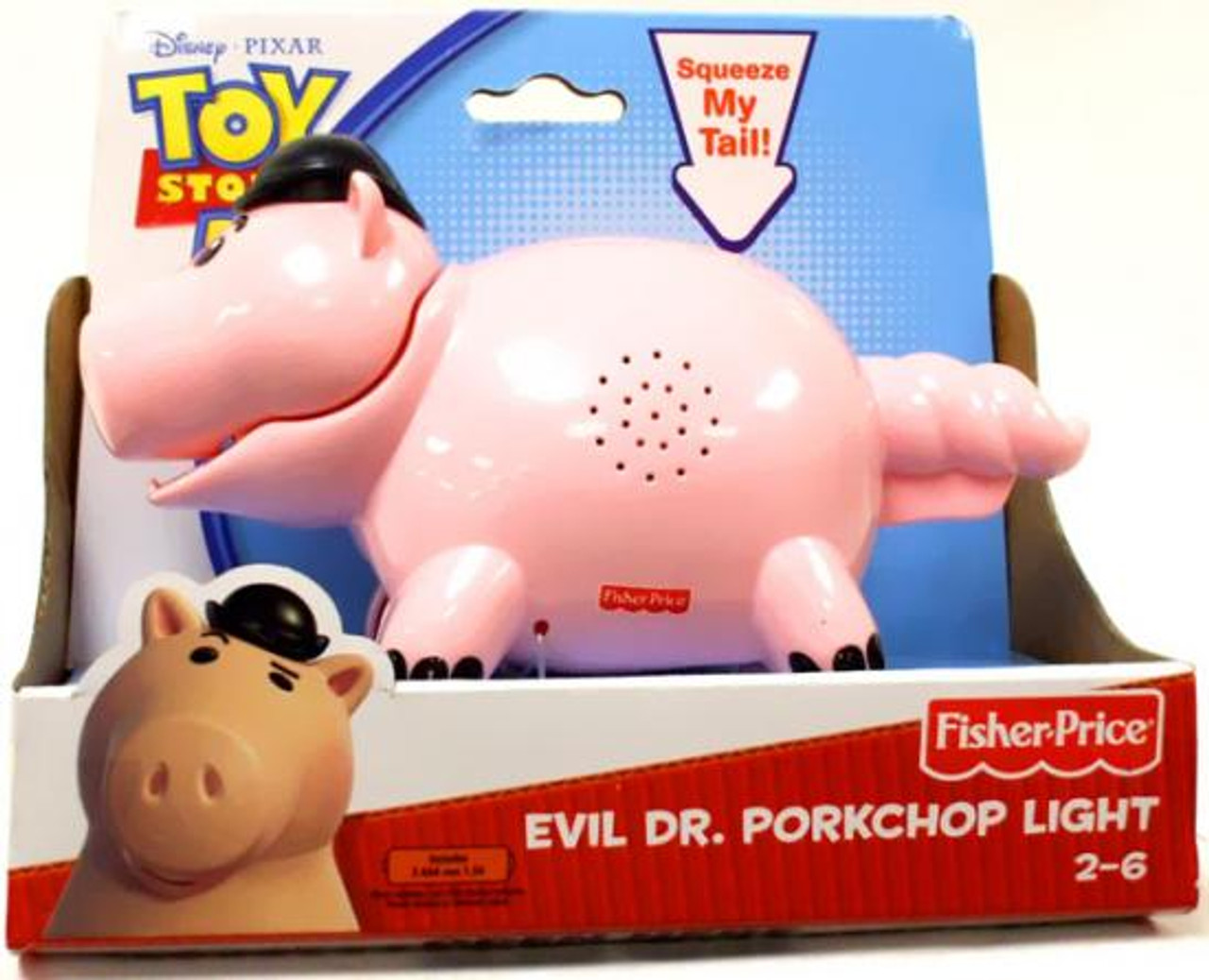 Fisher Price Toy Story 3 Evil Dr. Porkchop Light