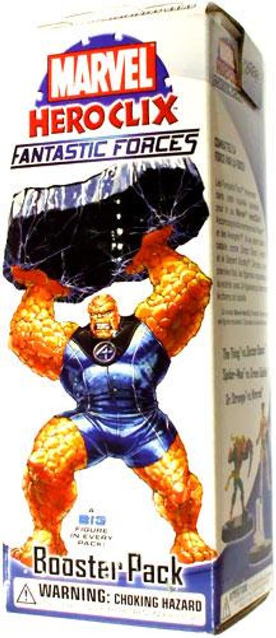 Marvel HeroClix Fantastic Forces Booster Pack
