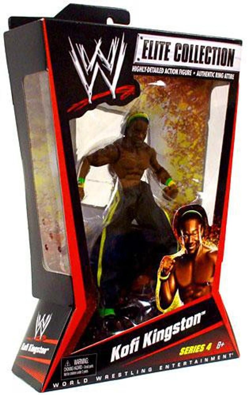 WWE Wrestling Elite Series 4 Kofi Kingston Action Figure