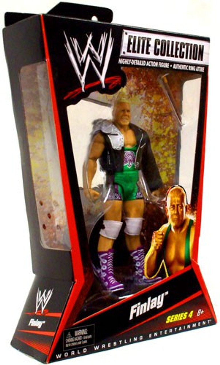 WWE Wrestling Elite Series 4 Finlay Action Figure