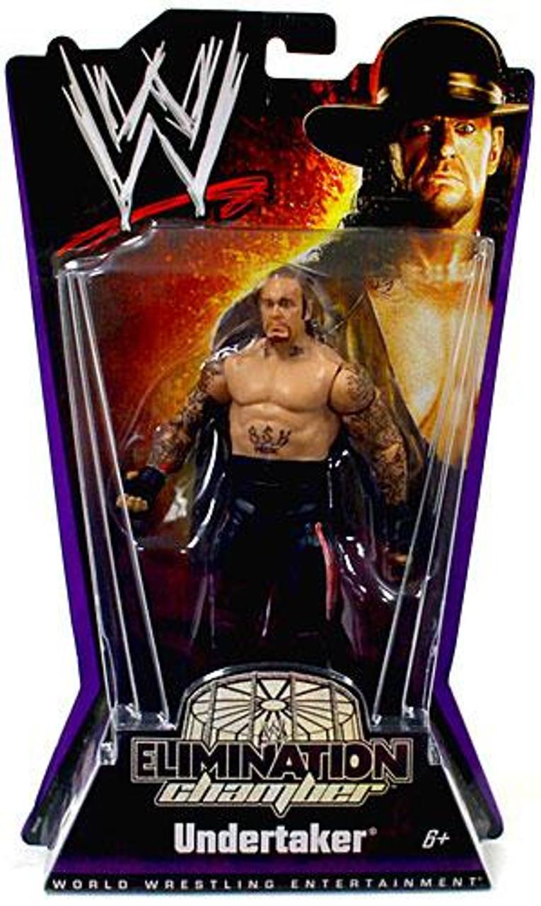 WWE Wrestling Elimination Chamber Series 1 Undertaker Action Figure
