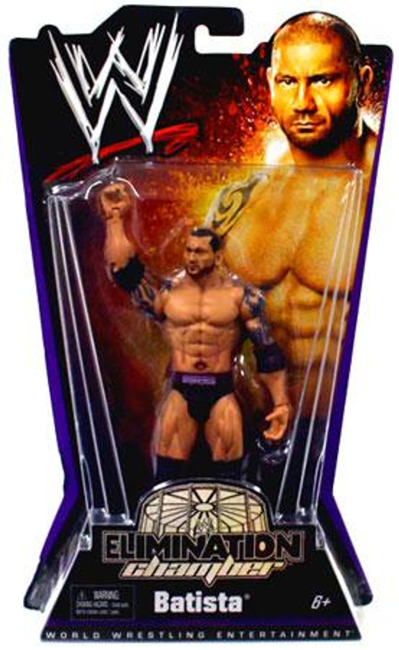 WWE Wrestling Elimination Chamber Series 1 Batista Action Figure