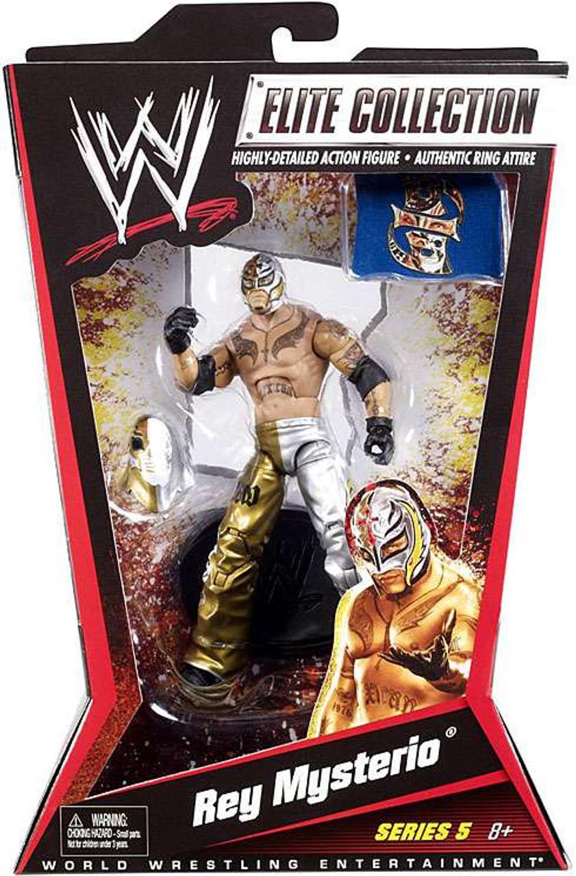 WWE Wrestling Elite Series 5 Rey Mysterio Action Figure