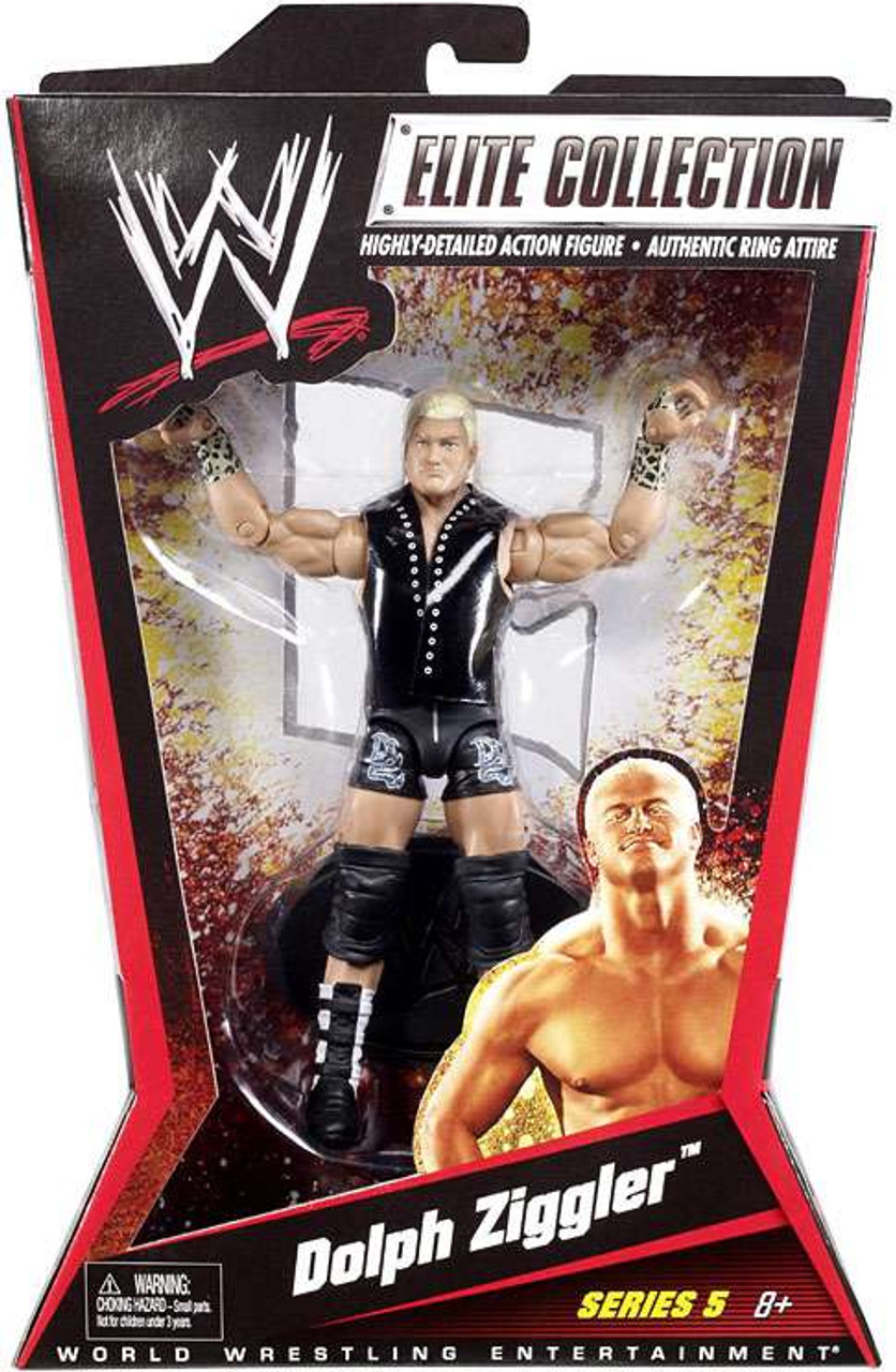 WWE Wrestling Elite Series 5 Dolph Ziggler Action Figure