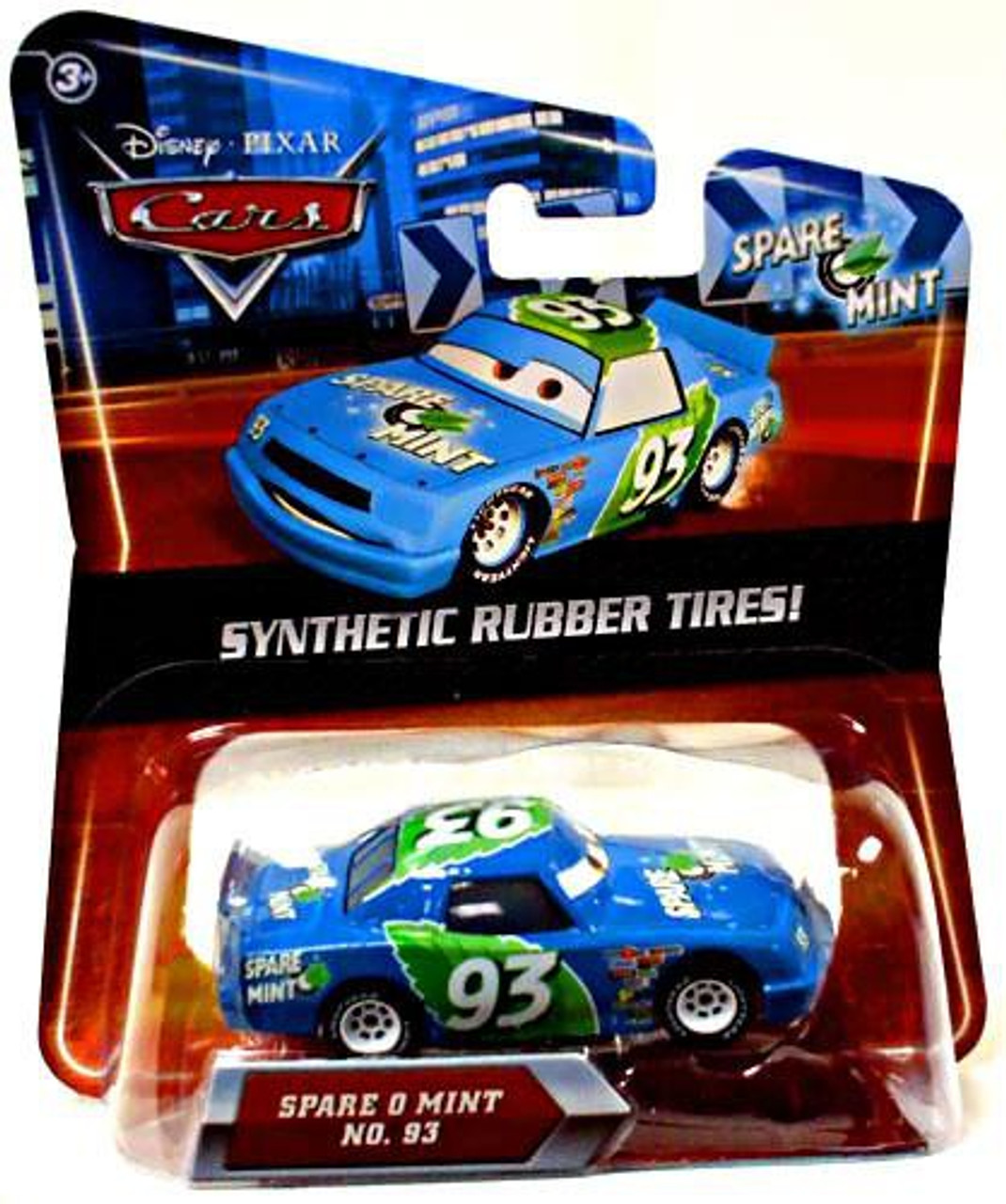 Disney Cars Synthetic Rubber Tires Spare O Mint Exclusive Diecast Car