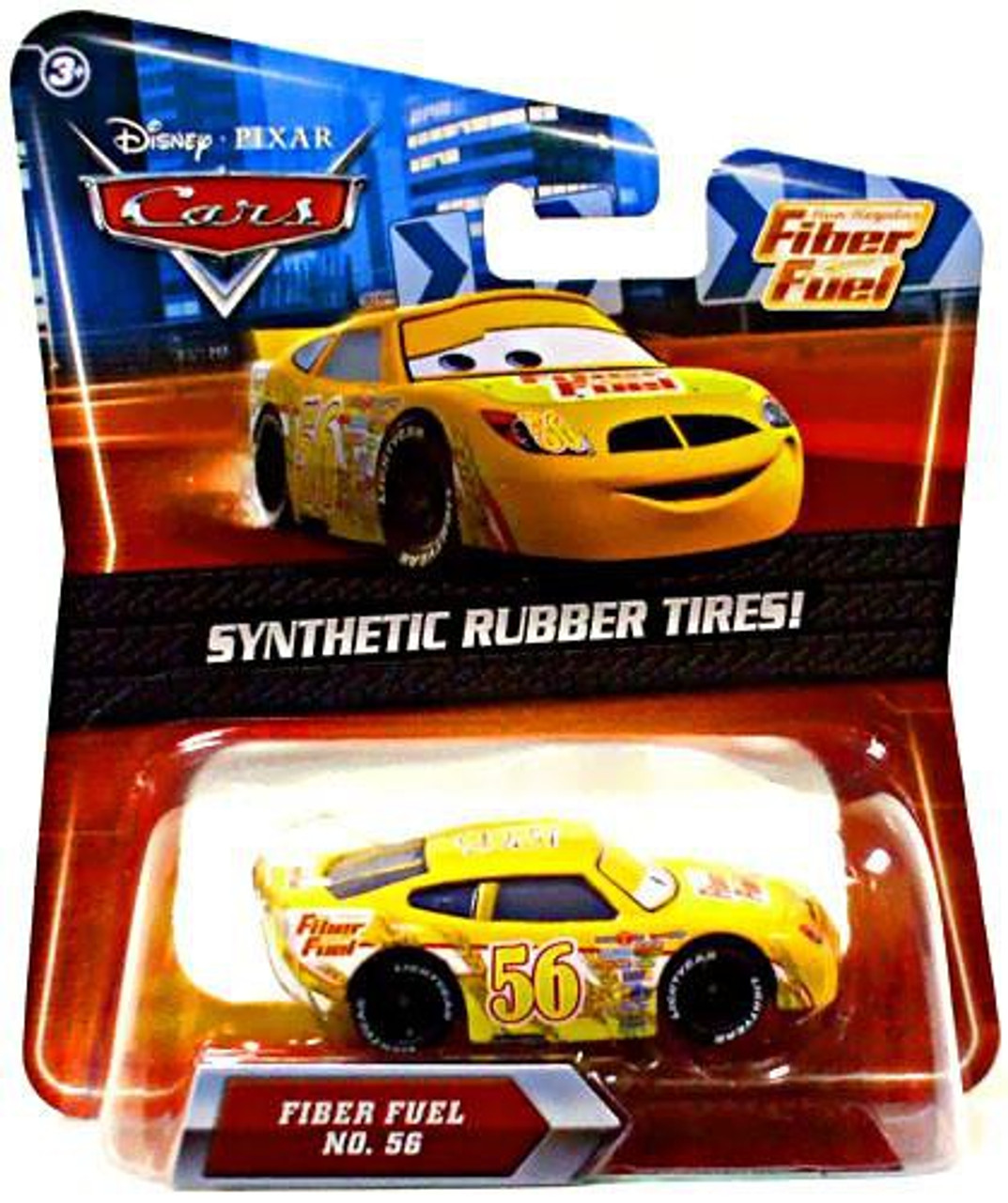 Disney Cars Synthetic Rubber Tires Fiber Fuel Exclusive Diecast Car