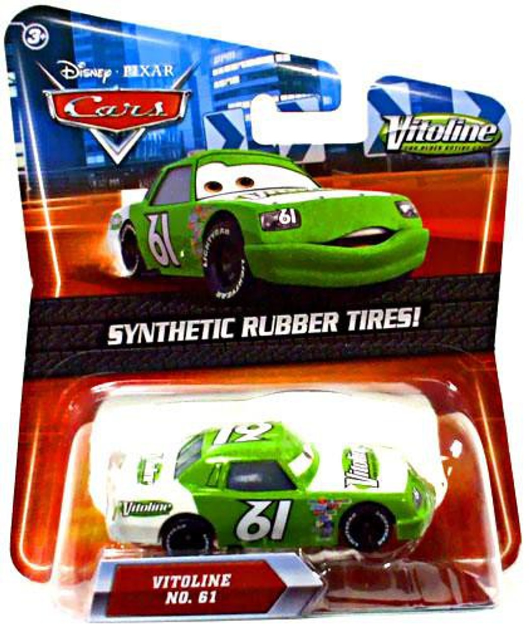 Disney Cars Synthetic Rubber Tires Vitoline Exclusive Diecast Car