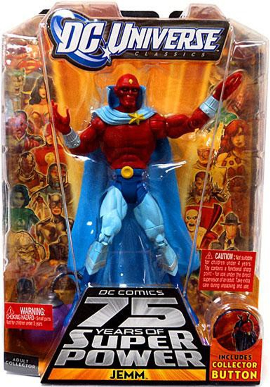 DC Universe 75 Years of Super Power Classics Validus Series Jemm Action Figure