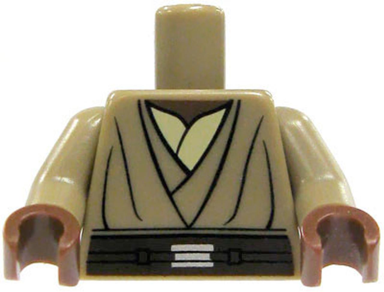 LEGO Indiana Jones Dark Tan Tunic Loose Torso [Loose]