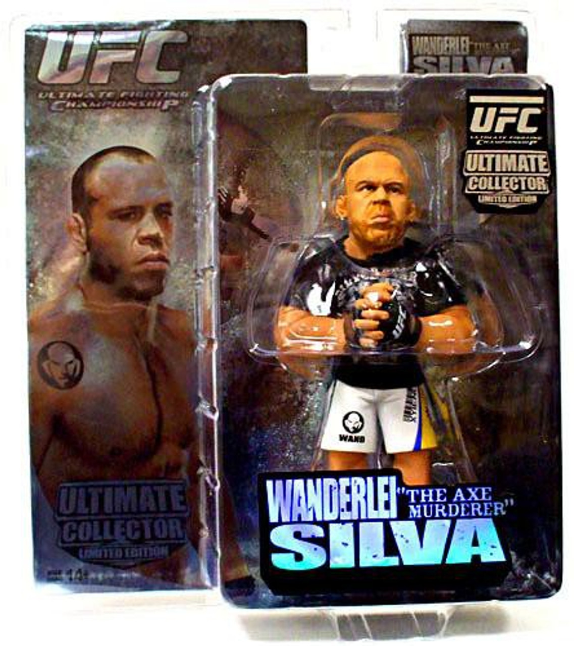 "UFC Ultimate Collector Series 3 Wanderlei ""Axe Murderer"" Silva Action Figure [Limited Edition]"
