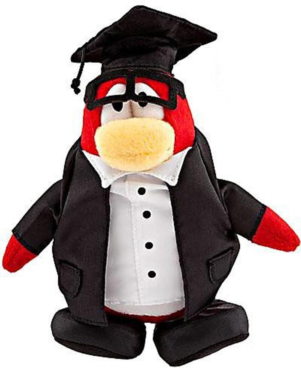Club Penguin Series 8 Graduate 6.5-Inch Plush Figure