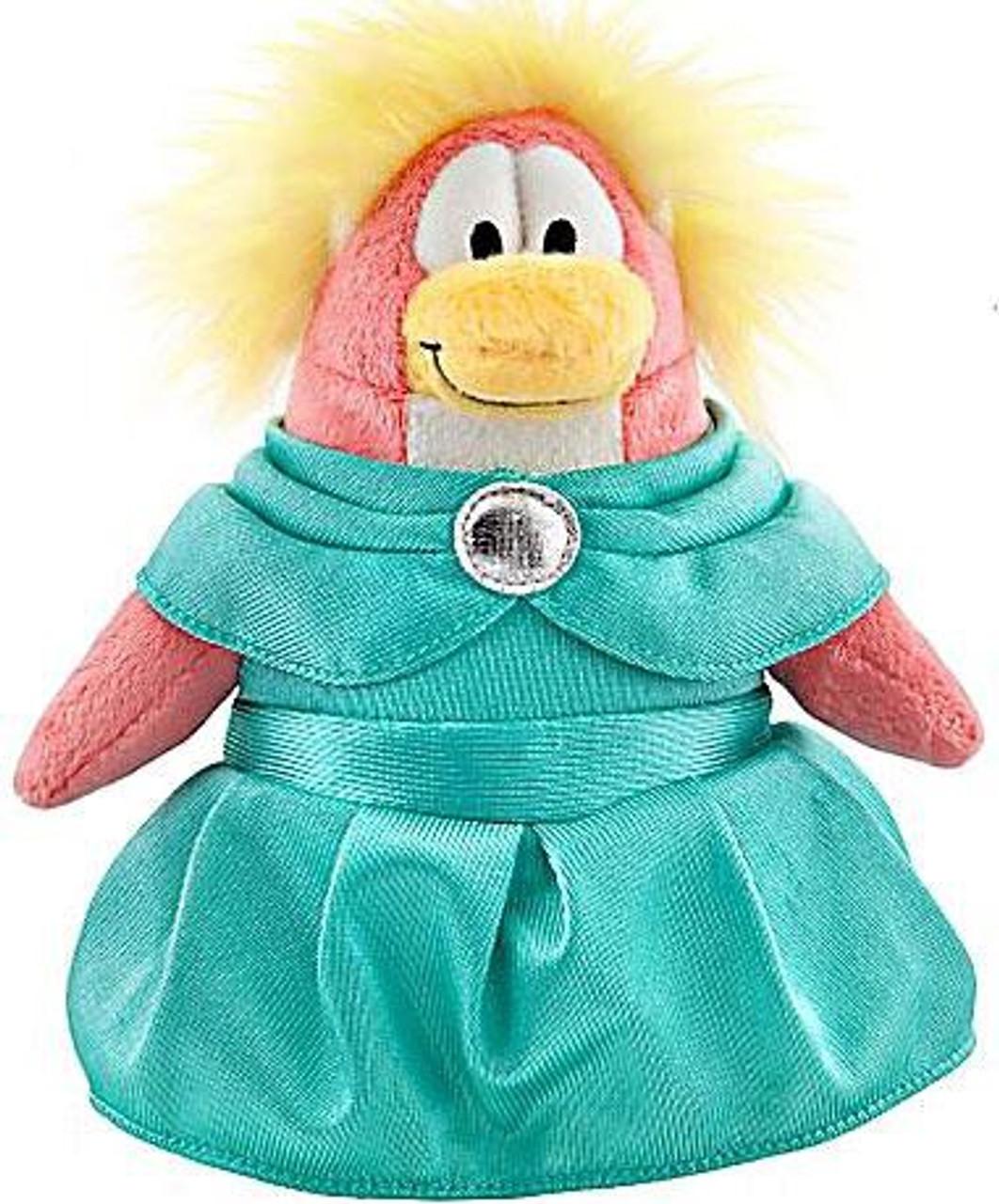 Club Penguin Series 8 Prom Girl 6.5-Inch Plush Figure