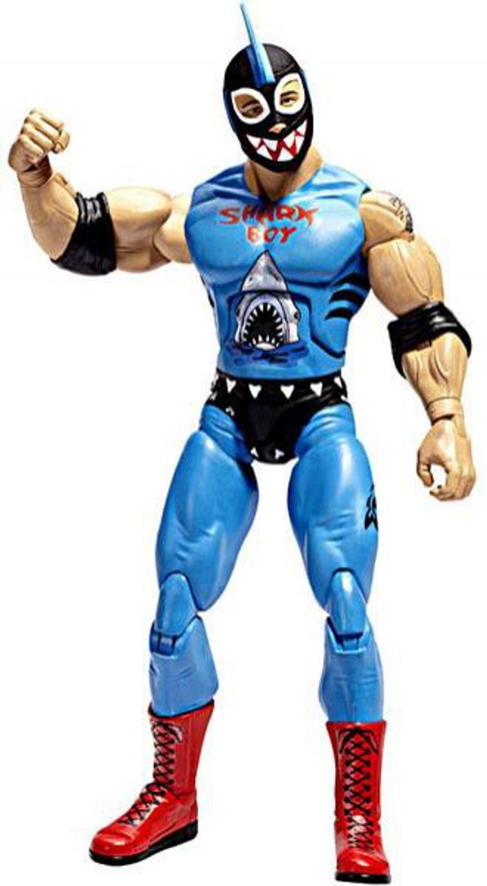 TNA Wrestling Deluxe Impact Series 3 Shark Boy Action Figure