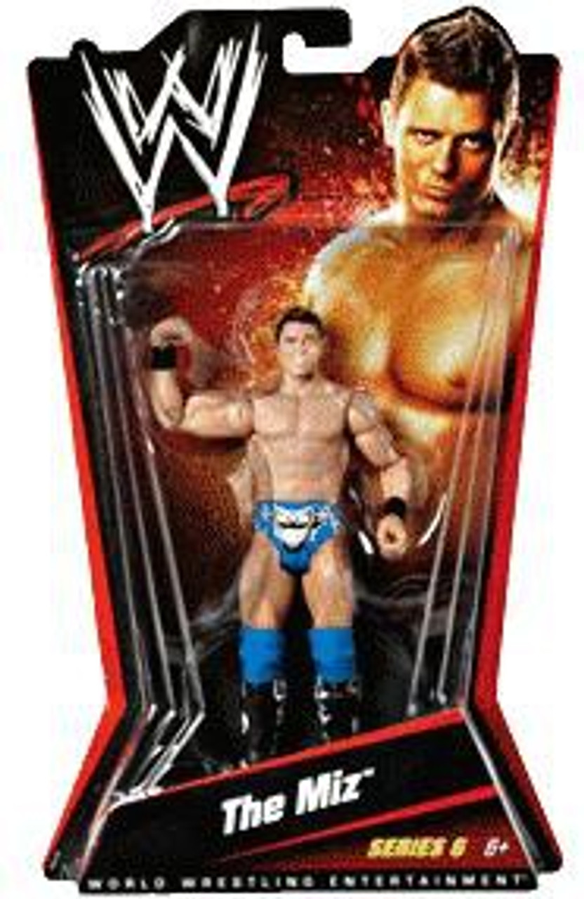 WWE Wrestling Series 6 The Miz Action Figure