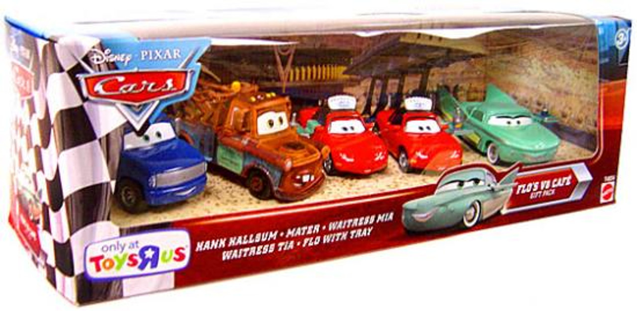 Disney Cars Flo's V8 Cafe Exclusive Diecast Car Set