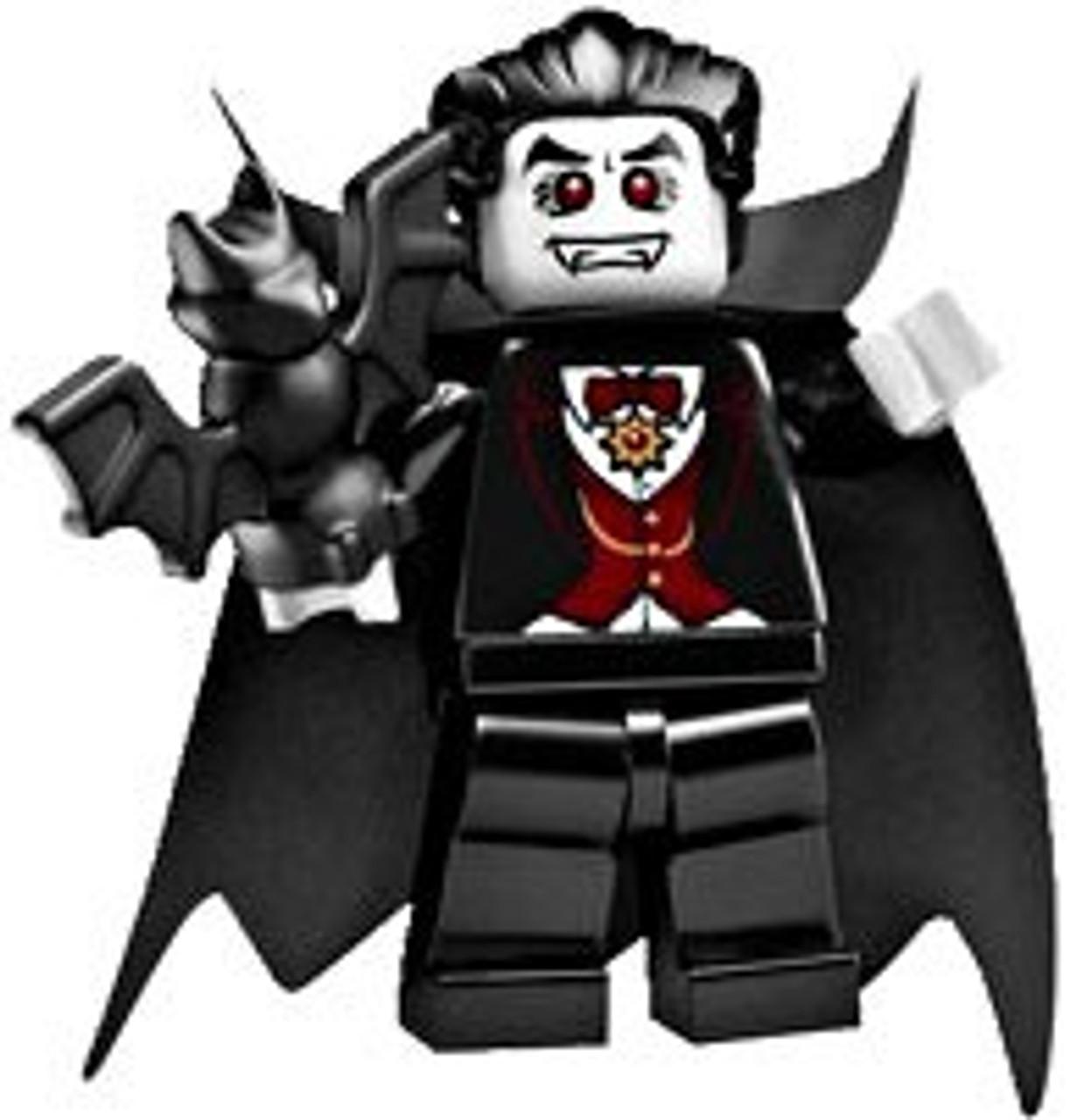 LEGO Minifigures Series 2 Dracula Vampire Minifigure [Loose]