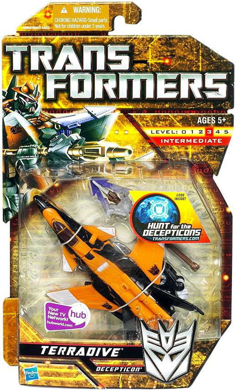 Transformers Hunt for the Decepticons Terradrive Deluxe Action Figure