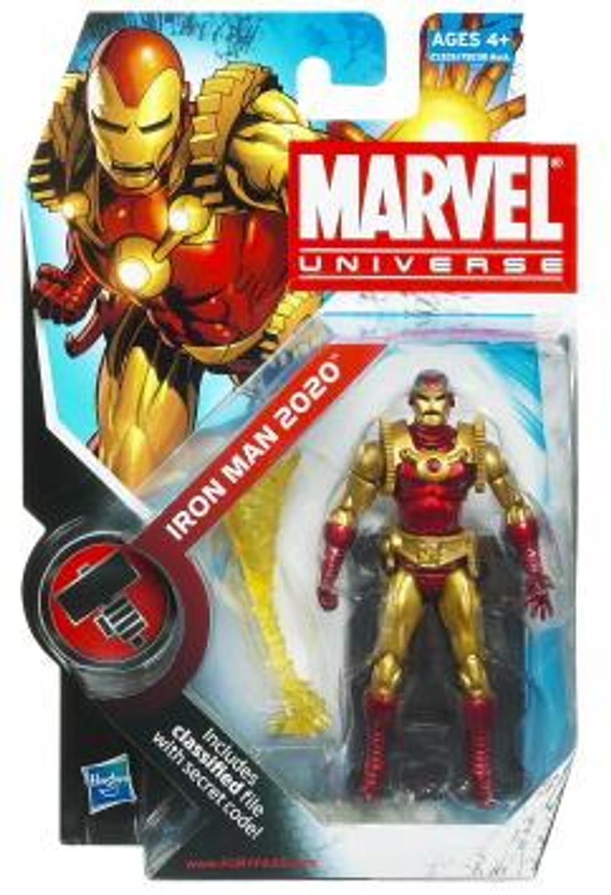 Marvel Universe Series 11 Iron Man 2020 Action Figure #33