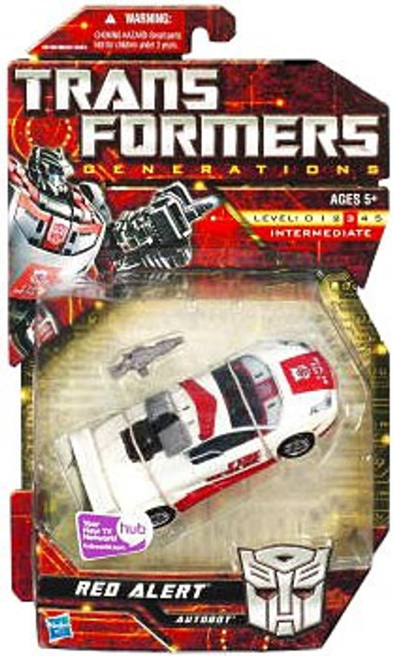 Transformers Generations Deluxe Red Alert Deluxe Action Figure
