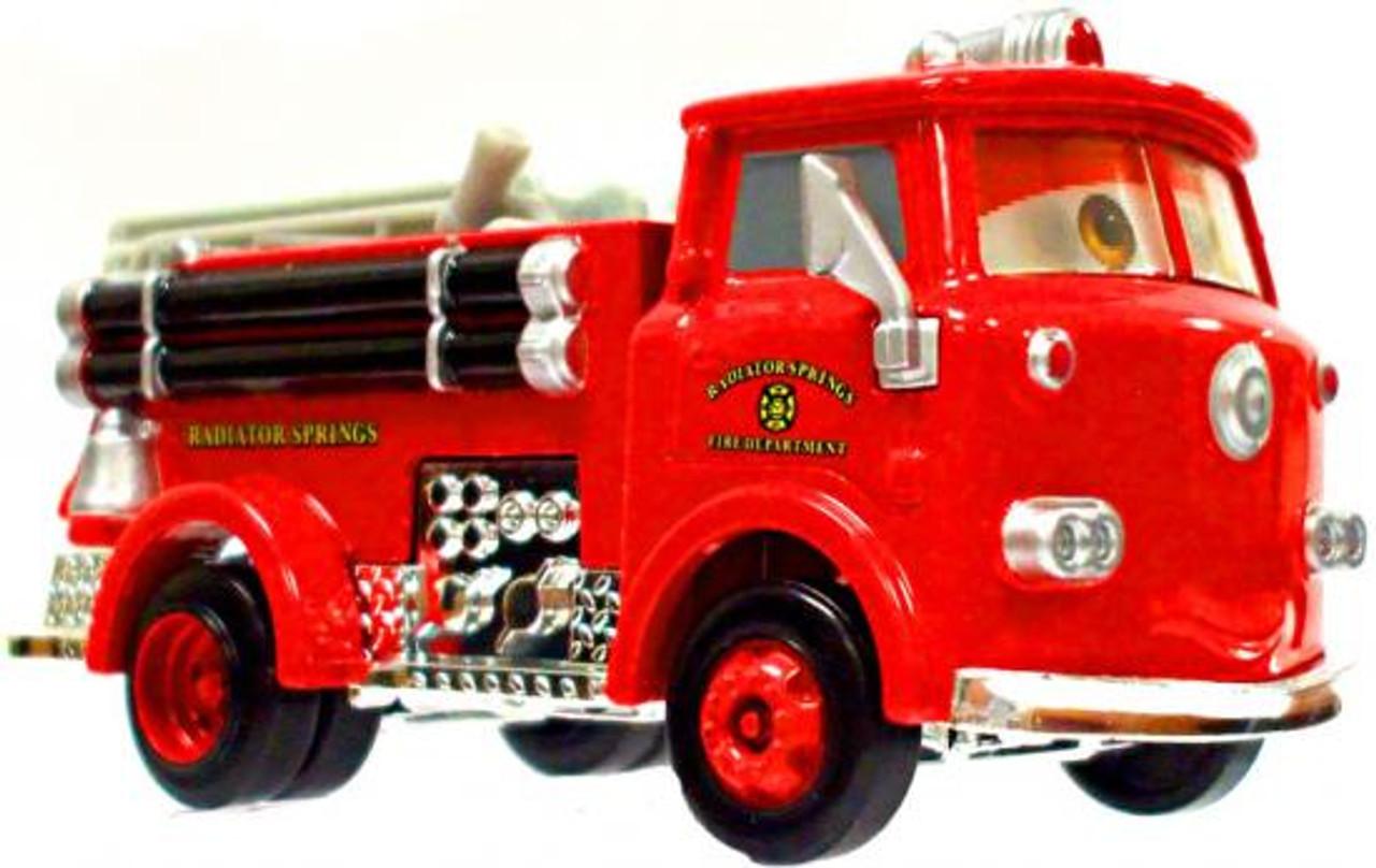 Disney Cars Loose Lenticular Red the Firetruck Diecast Car [Loose]