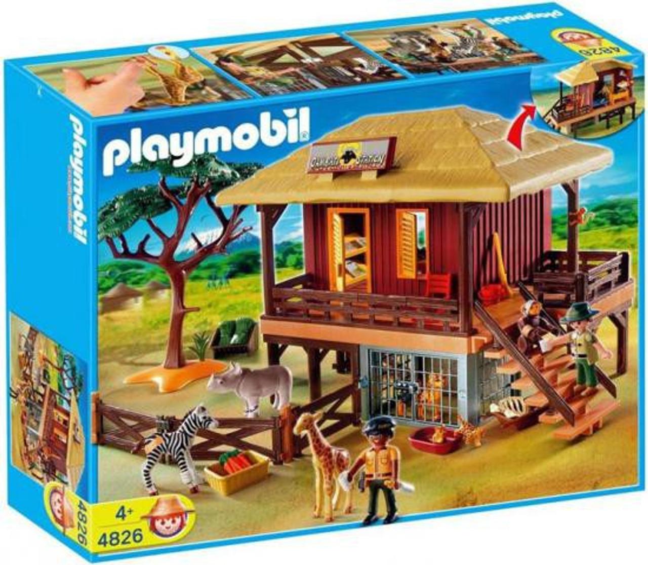 playmobil zoo animal clinic wild life care station set 4826 toywiz. Black Bedroom Furniture Sets. Home Design Ideas