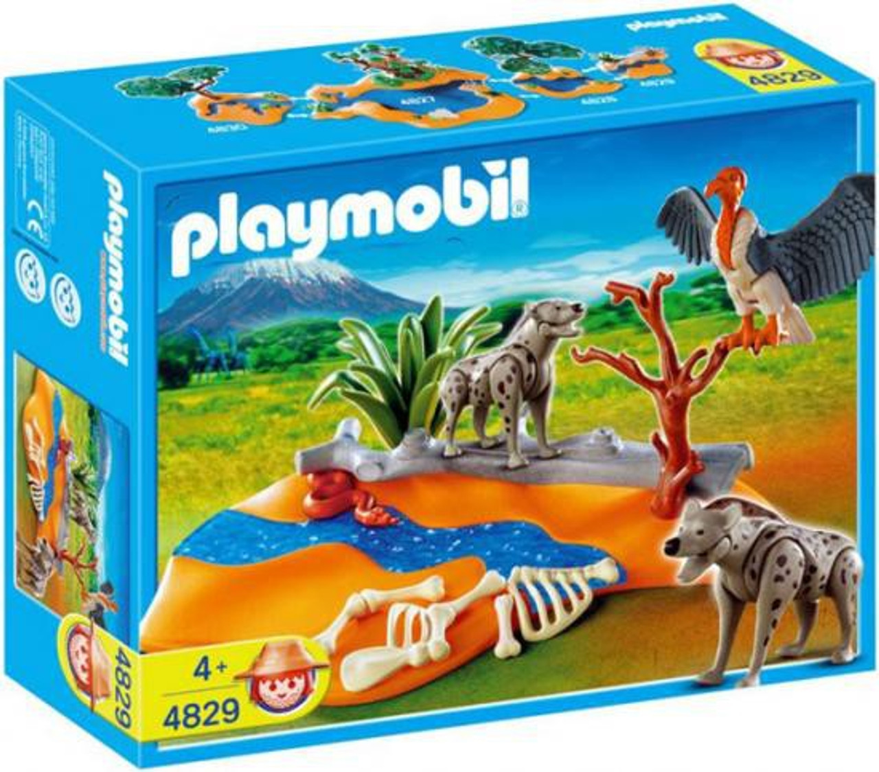Playmobil Zoo African Wildlife Hyenas Set #4829