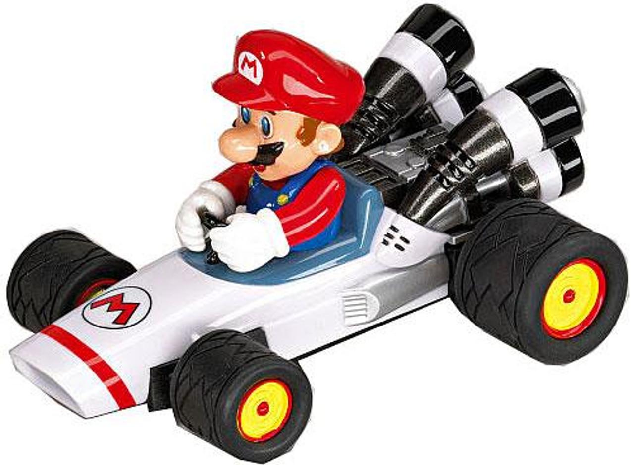 Super Mario Mario Kart DS Pull & Speed Mario B-Dasher 3.5-Inch Vehicle #19301