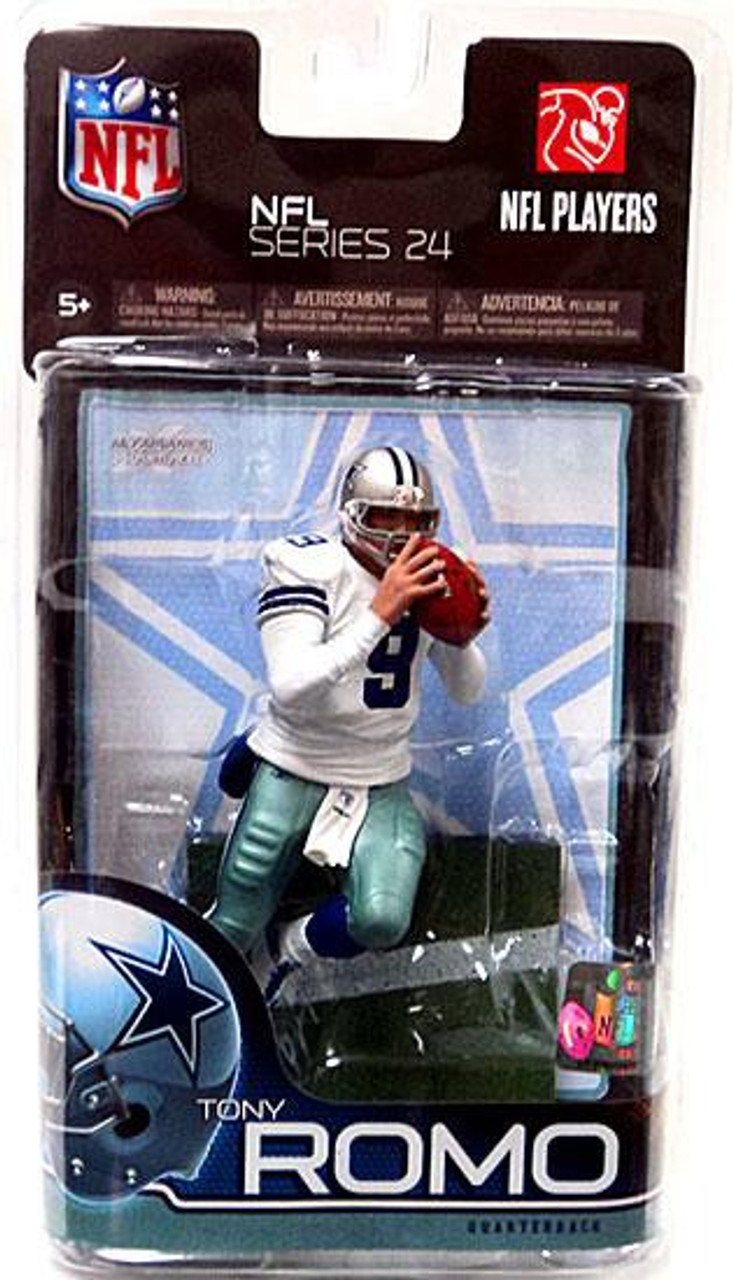 McFarlane Toys NFL Dallas Cowboys Sports Picks Series 24 Tony Romo Action Figure