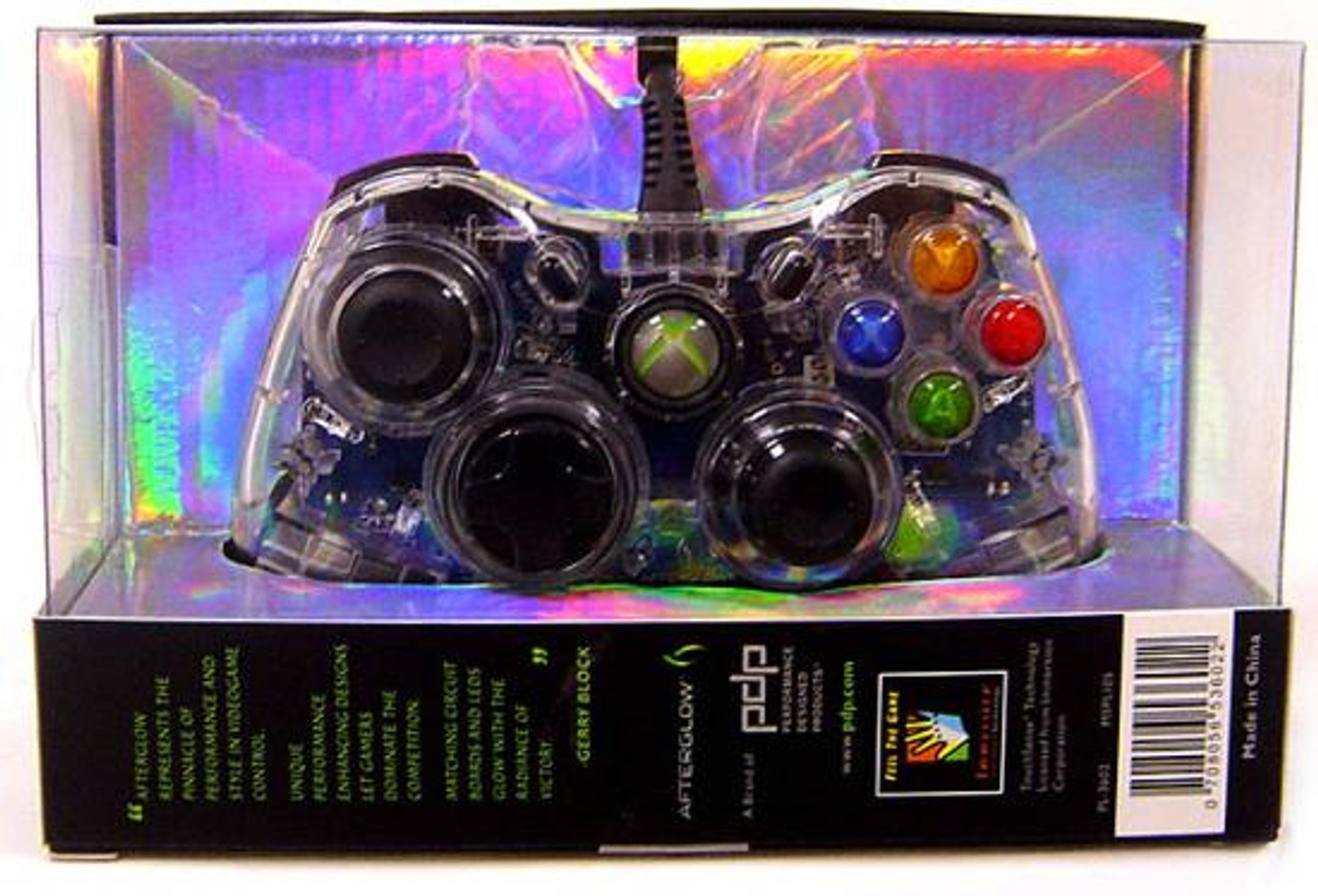 Xbox 360 Afterglow AX.1 Video Game Controller