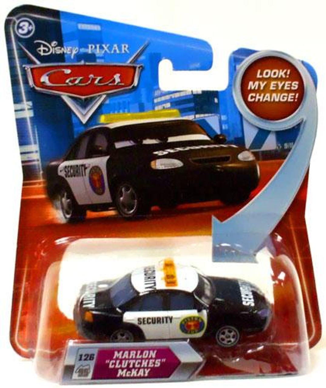 "Disney Cars Lenticular Eyes Series 2 Marlon ""Clutches"" McKay Diecast Car"