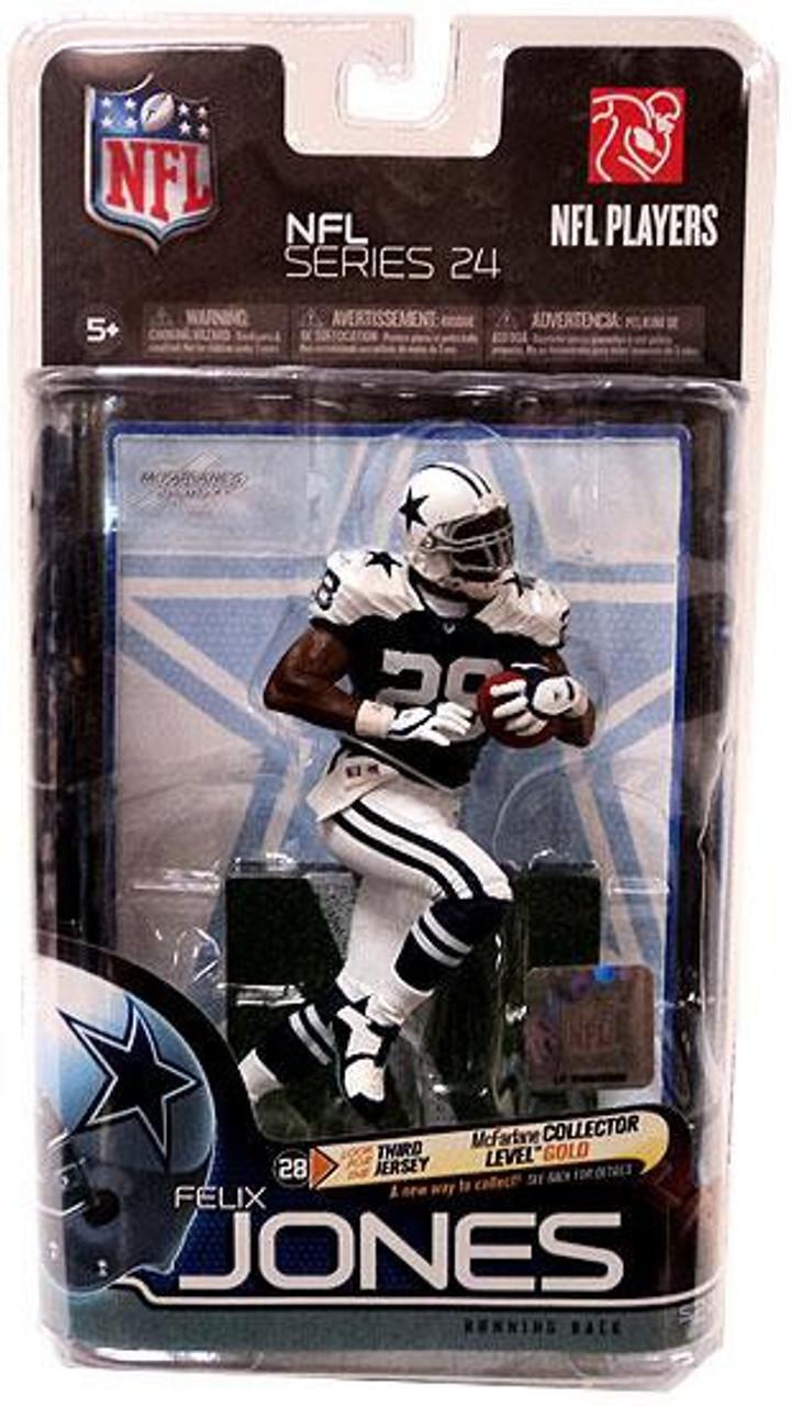 McFarlane Toys NFL Dallas Cowboys Sports Picks Series 24 Felix Jones Action Figure [Thanksgiving Uniform]