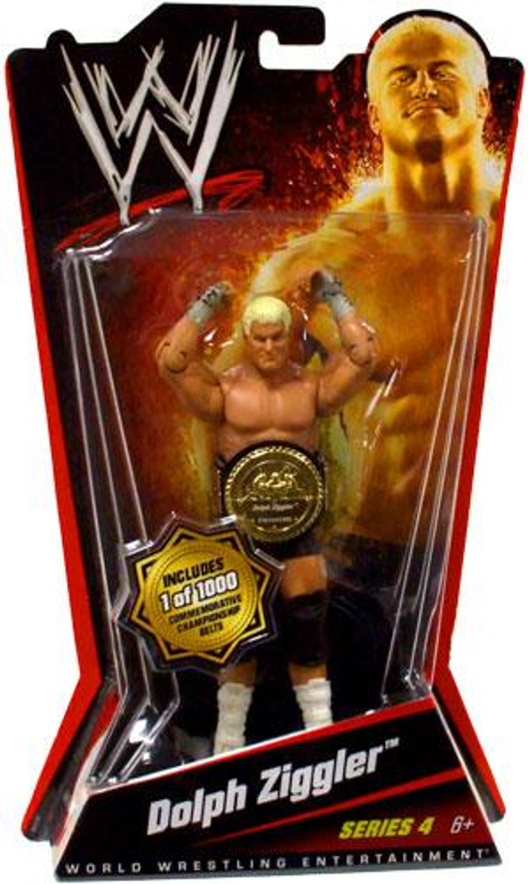 WWE Wrestling Series 4 Dolph Ziggler Action Figure [With Belt]
