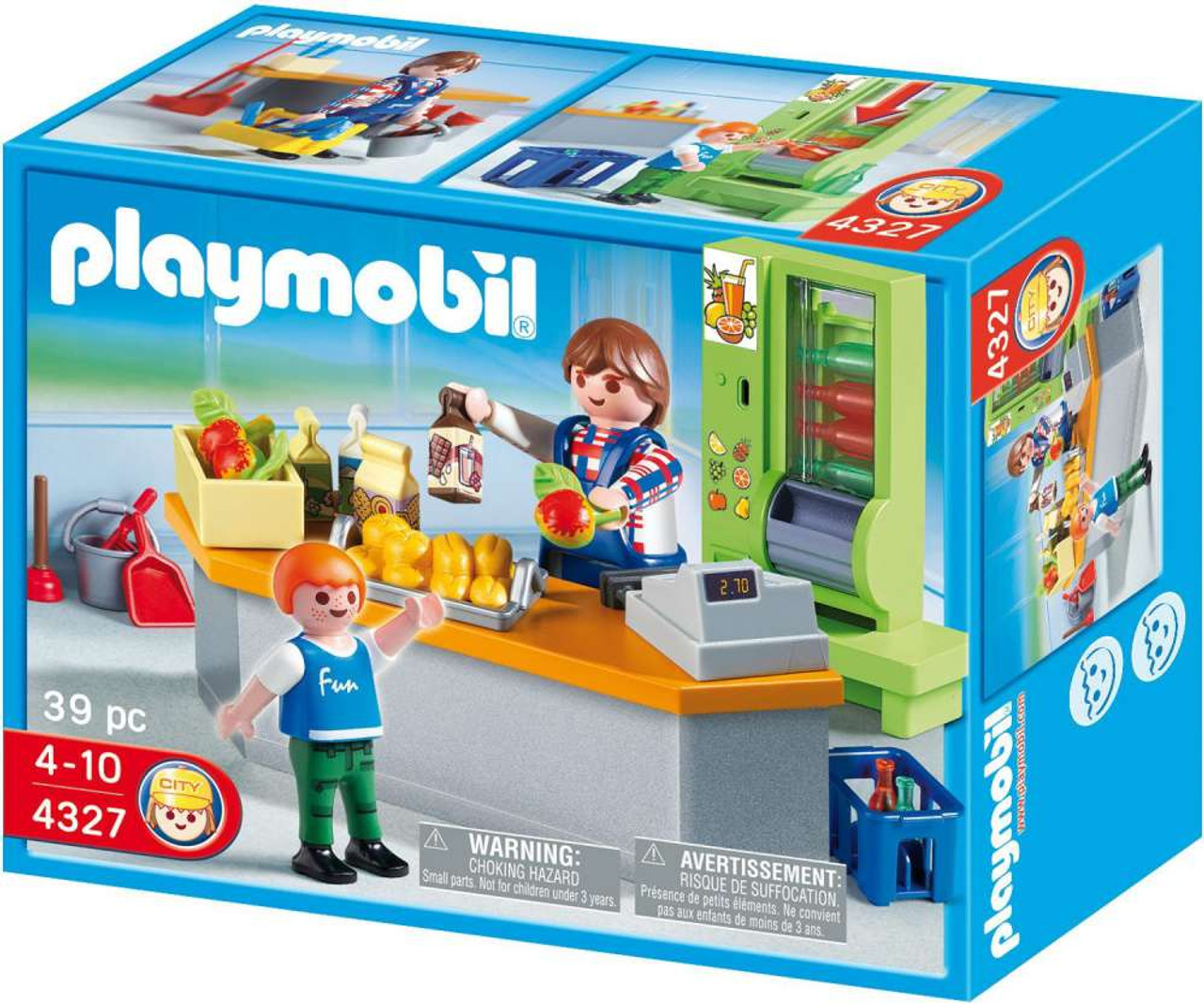 Playmobil School Cafeteria Set #4327