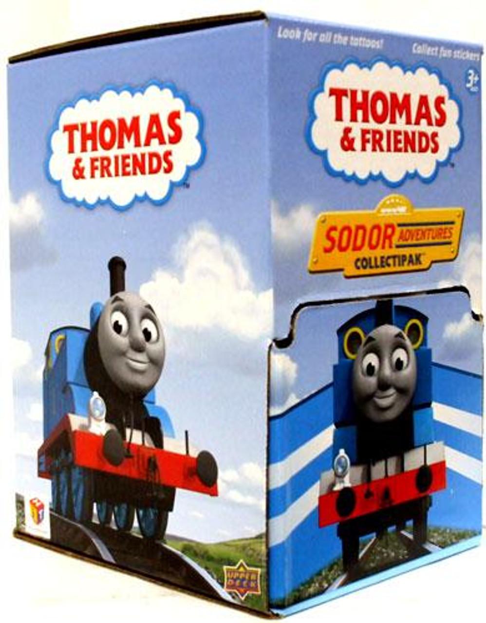 Thomas & Friends Sodor Adventures Collectipak Trading Card Box
