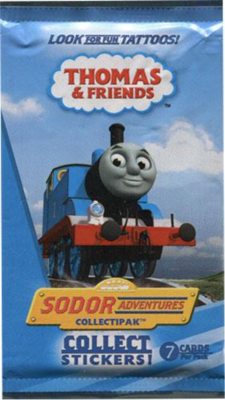 Thomas & Friends Sodor Adventures Collectipak Trading Card Pack