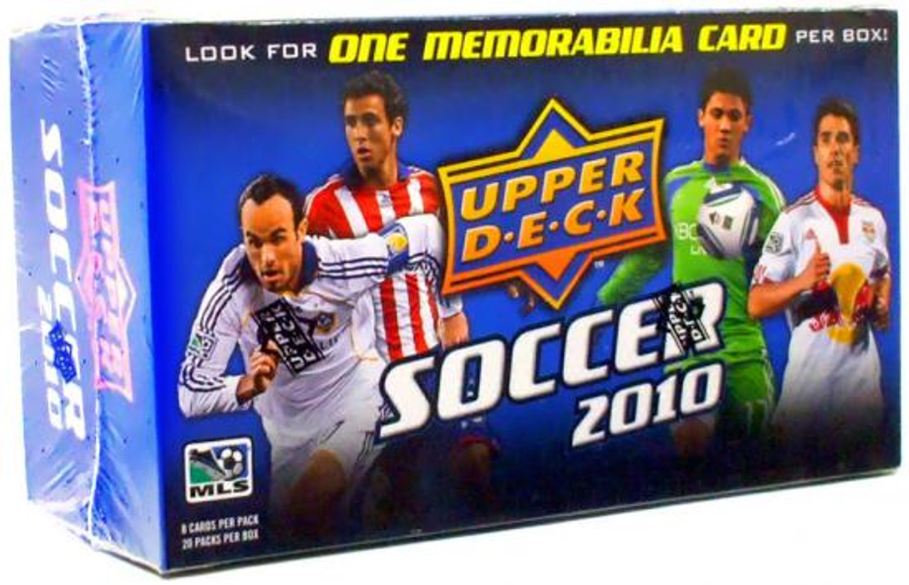MLS Soccer 2011 Upper Deck MLS Booster Box