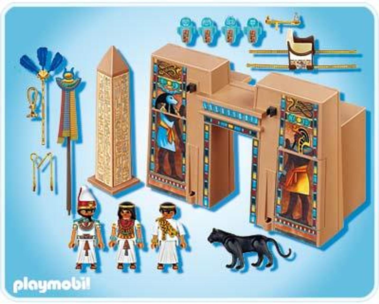 Playmobil Romans & Egyptians Pharaoh's Temple Set #4243