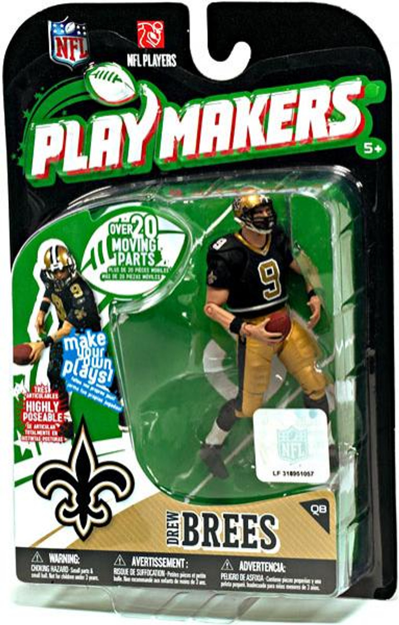 McFarlane Toys NFL New Orleans Saints Playmakers Series 1 Drew Brees Action Figure