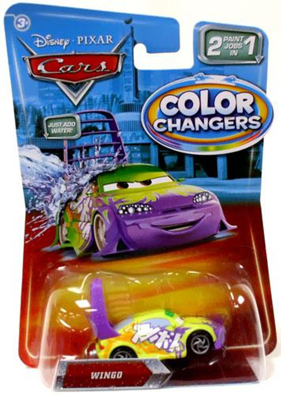 Disney Cars Color Changers Wingo Diecast Car