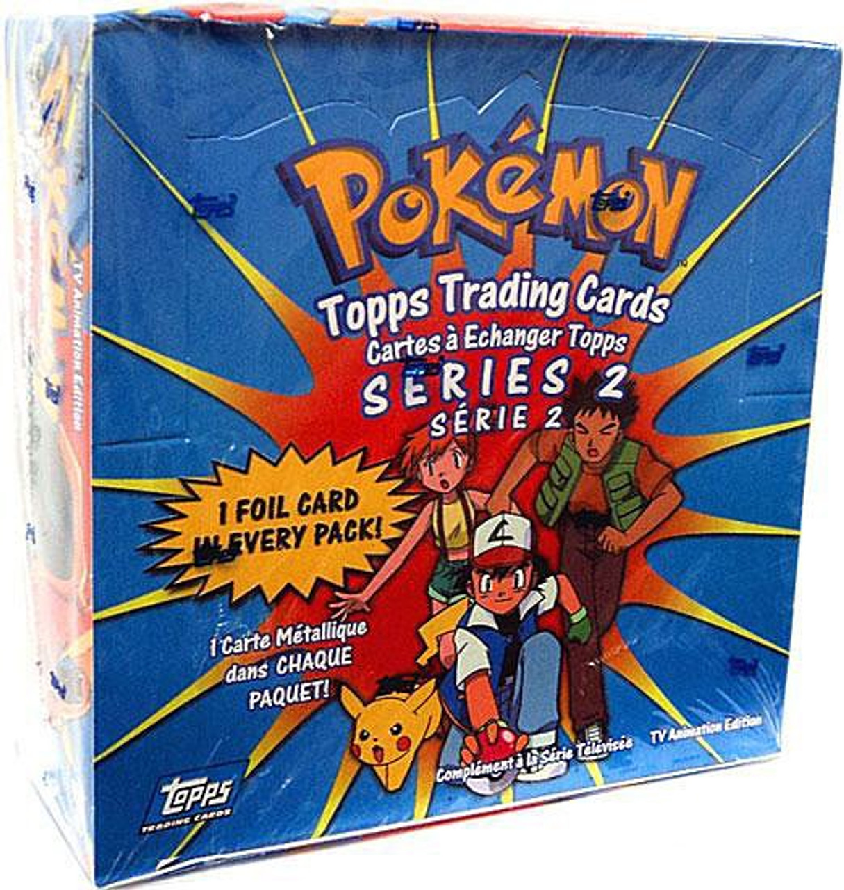 Pokemon TV Animation Series 2 Trading Card Box [36 Packs]