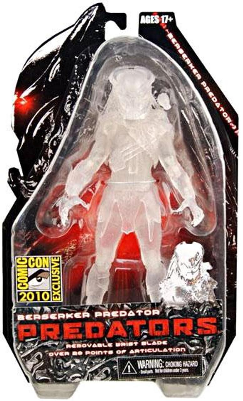 NECA Predators Berserker Predator Exclusive Action Figure [Cloaked]