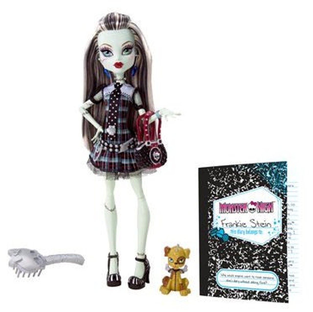 Monster High Frankie Stein 10.5-Inch Doll [With Watzit]