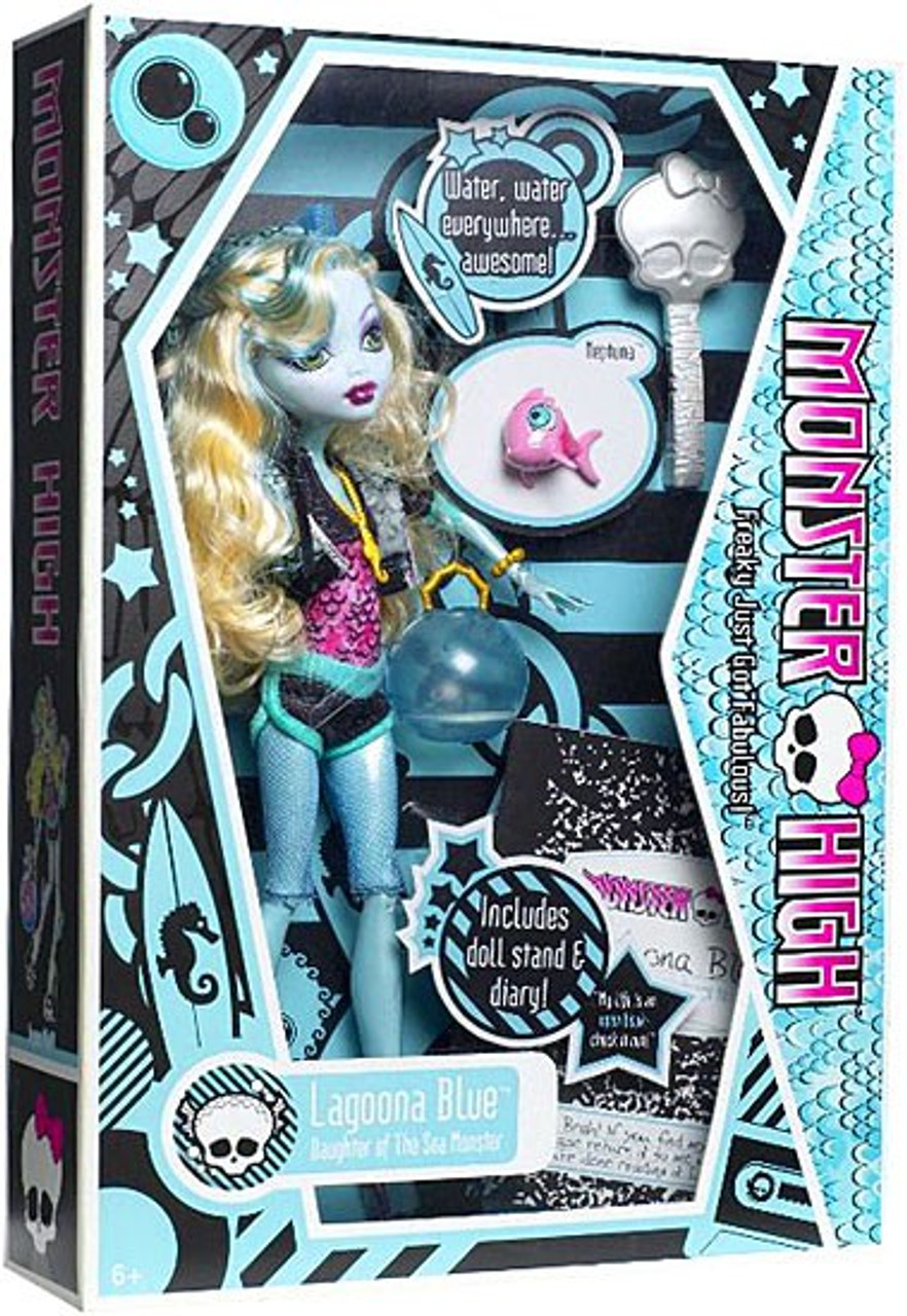 Monster High Lagoona Blue 10.5-Inch Doll [With Neptuna]