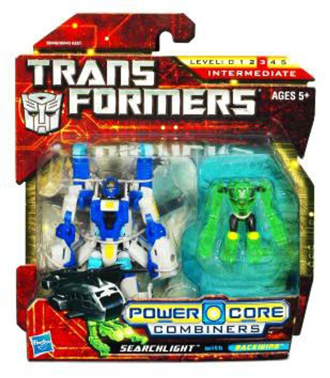 Transformers Power Core Combiners Searchlight with Backwind Action Figure 2-Pack
