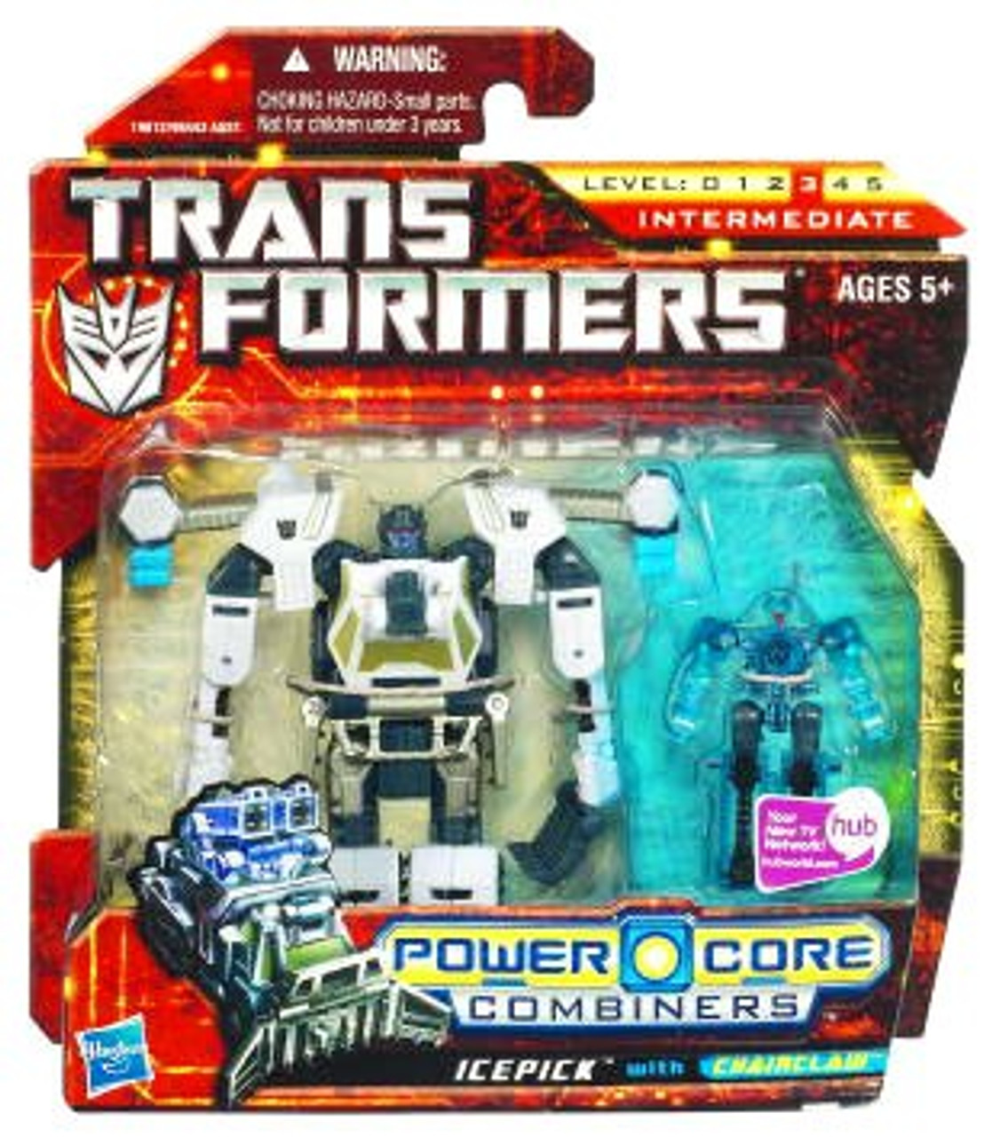 Transformers Power Core Combiners Icepick with Chainclaw Action Figure 2-Pack