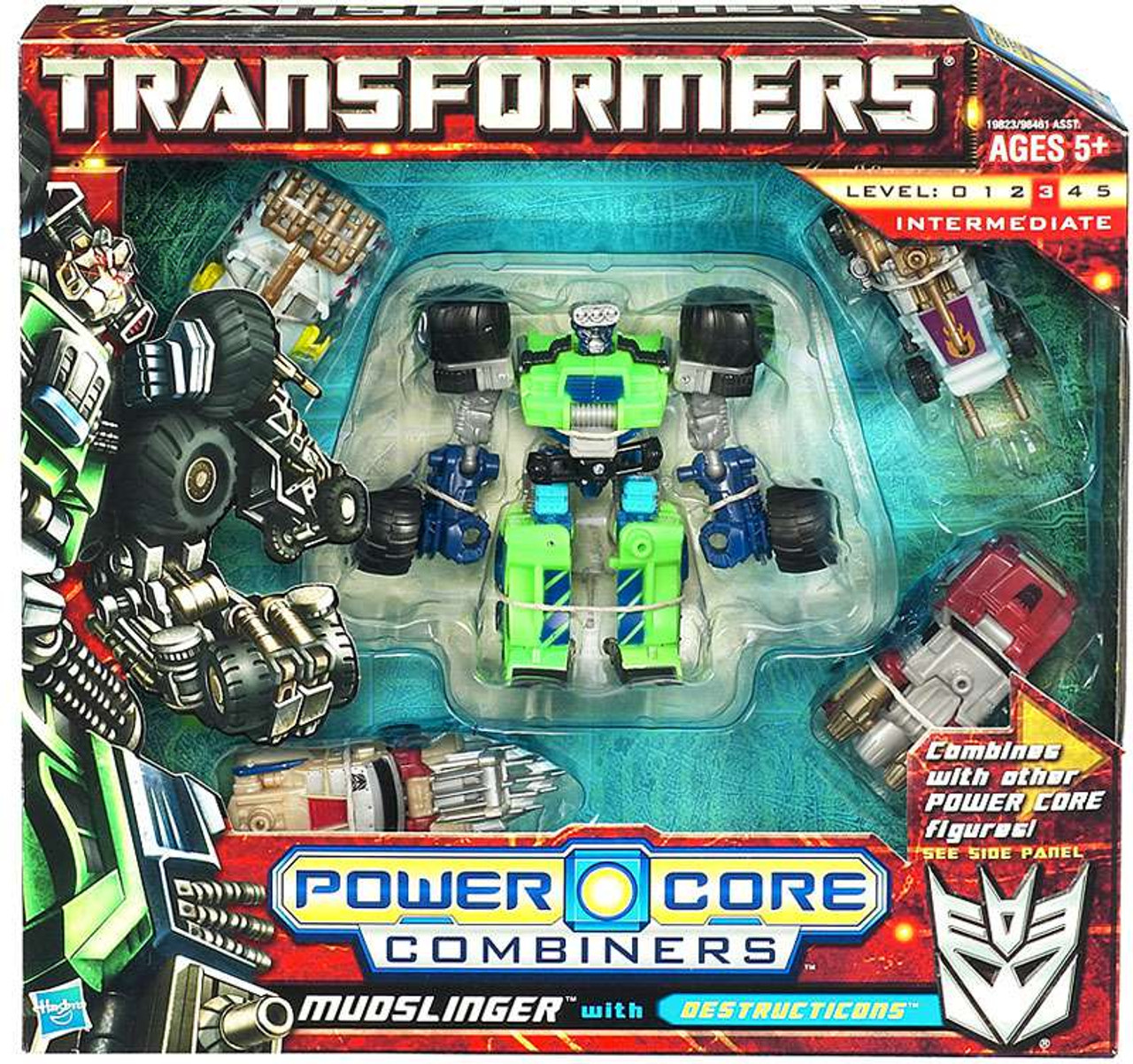 Transformers Power Core Combiners Mudslinger with Destructicons Action Figure 2-Pack