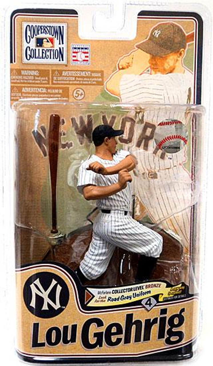 McFarlane Toys MLB Cooperstown Collection Series 8 Lou Gehrig Action Figure [White Uniform]