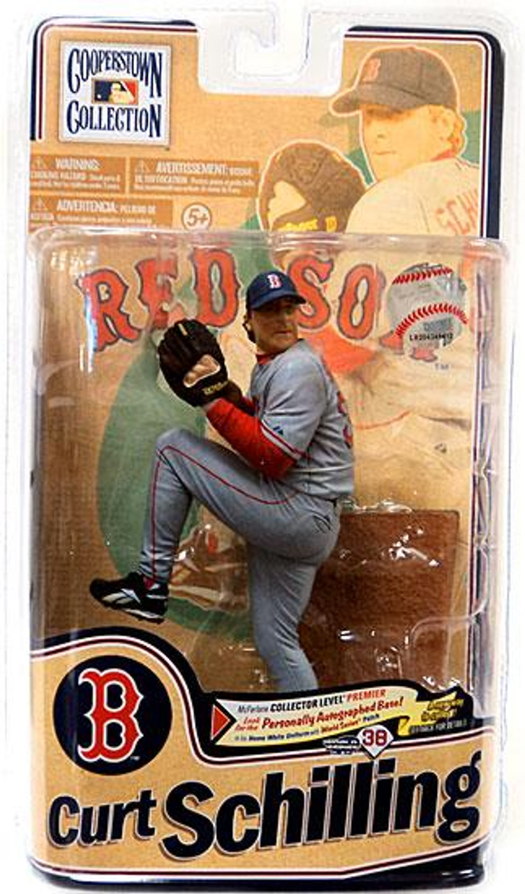 McFarlane Toys MLB Cooperstown Collection Series 8 Curt Schilling Action Figure
