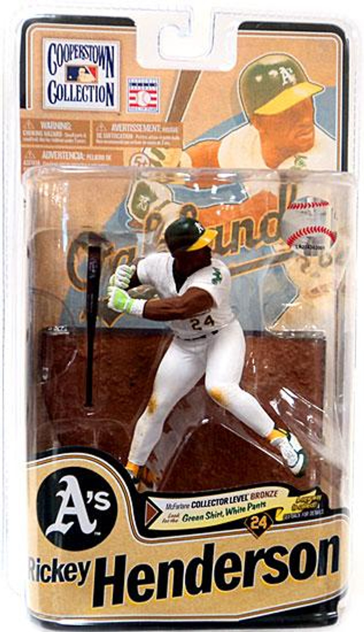 McFarlane Toys MLB Cooperstown Collection Series 8 Rickey Henderson Action Figure [White Jersey]