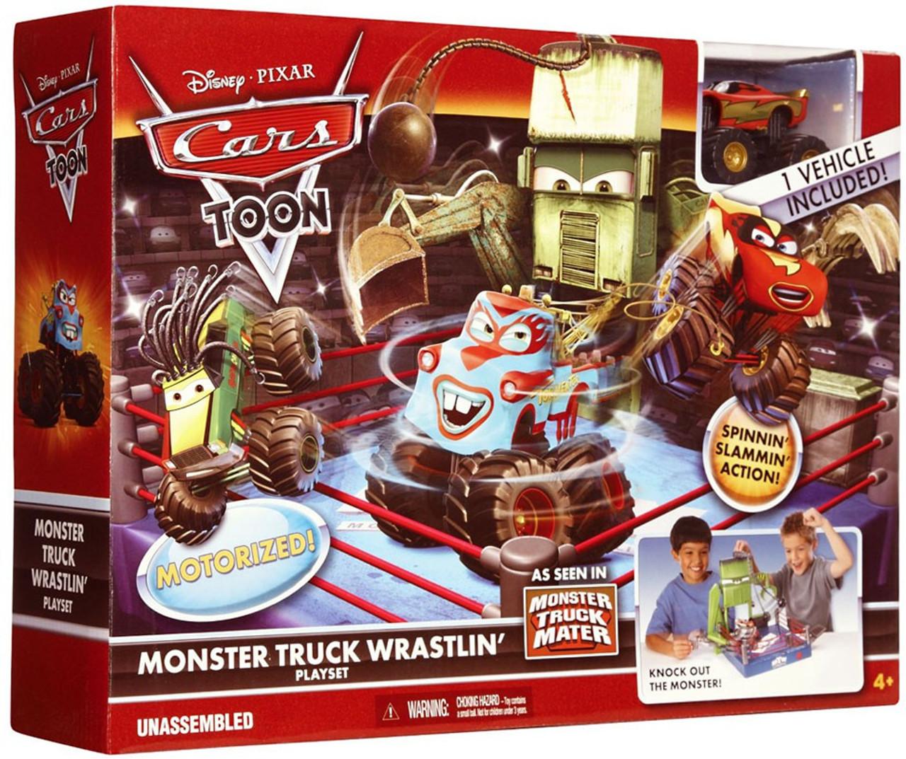 Disney Cars Cars Toon Playsets Monster Truck Wrastlin' Playset